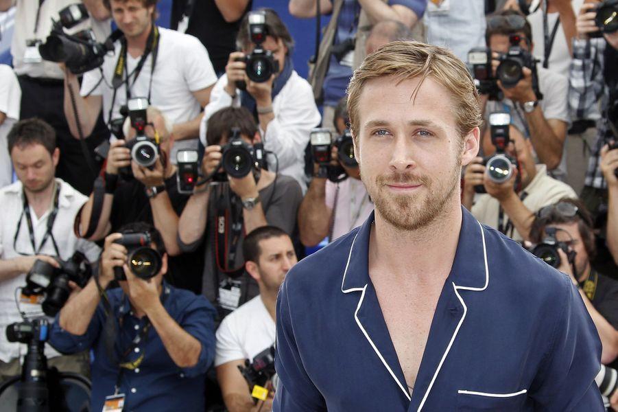 """Ryan au Festival de Cannes 2011 pour présenter """"Drive"""""""