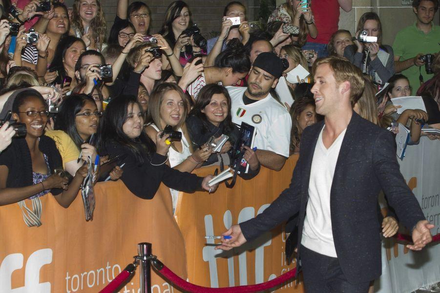 Ryan Gosling à Toronto en 2010