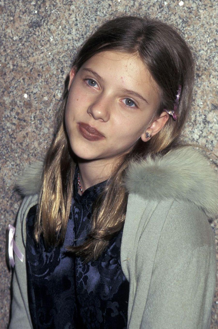 Scarlett Johansson adolescente