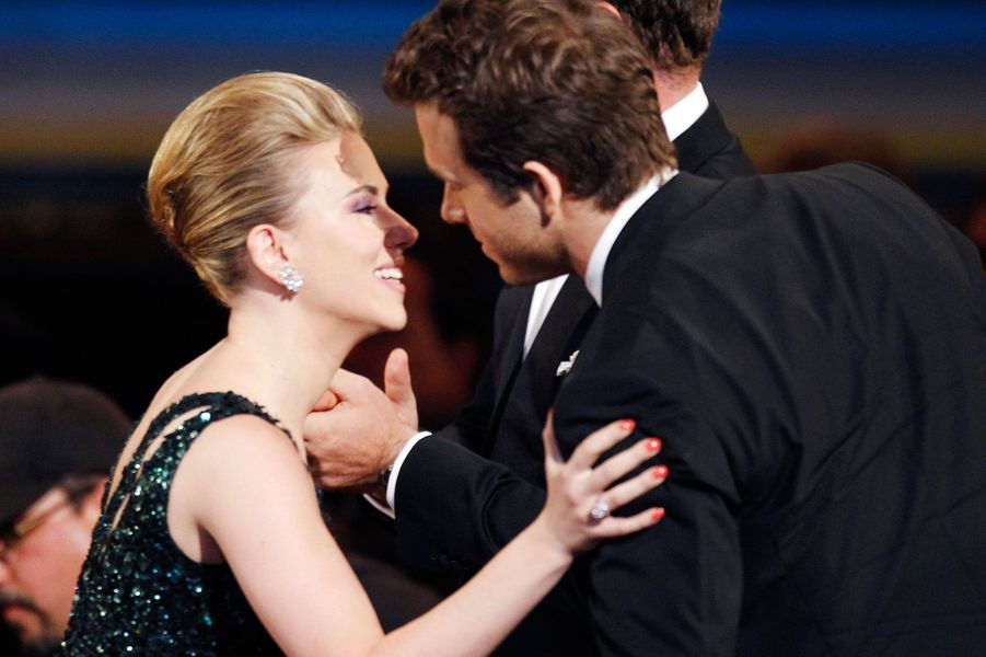 Scarlett Johansson et son ex-mari Ryan Reynolds.