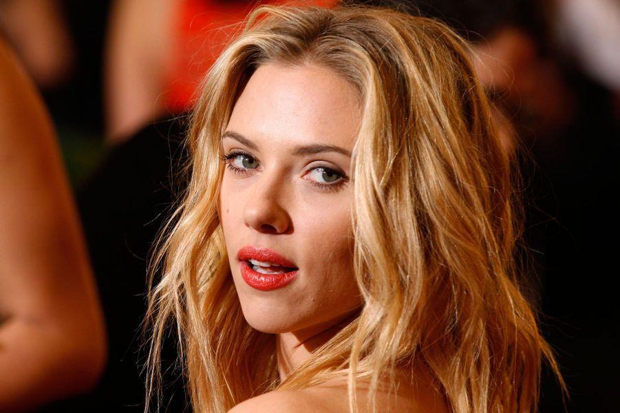 Scarlett Johansson en 2012.