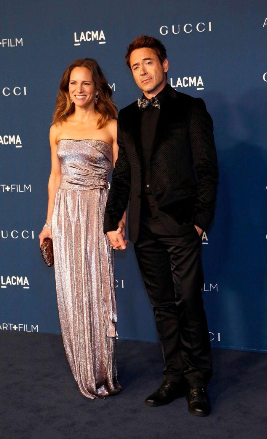 Robert Downey Jr. et son épouse Susan