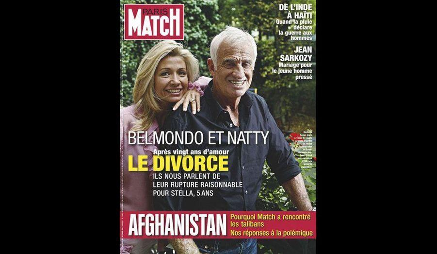 Le 11 septembre 2008, le divorce avec Naty