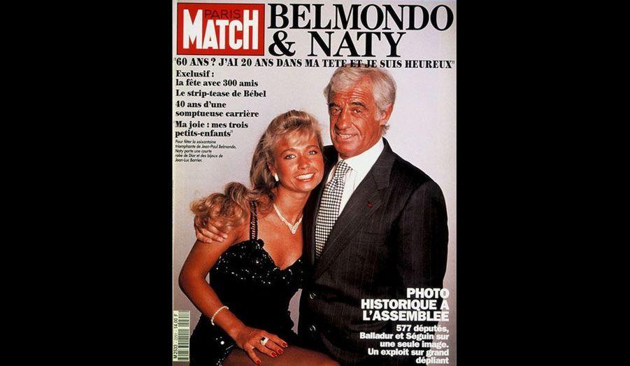 Le 22 avril 1993, avec Naty