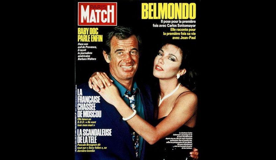 Le 27 juin 1986, avec Carlos Sottomayor