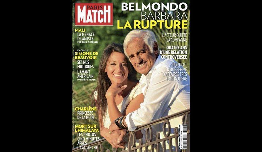 Le 4 octobre 2012, la séparation avec Barbara Gandolfi