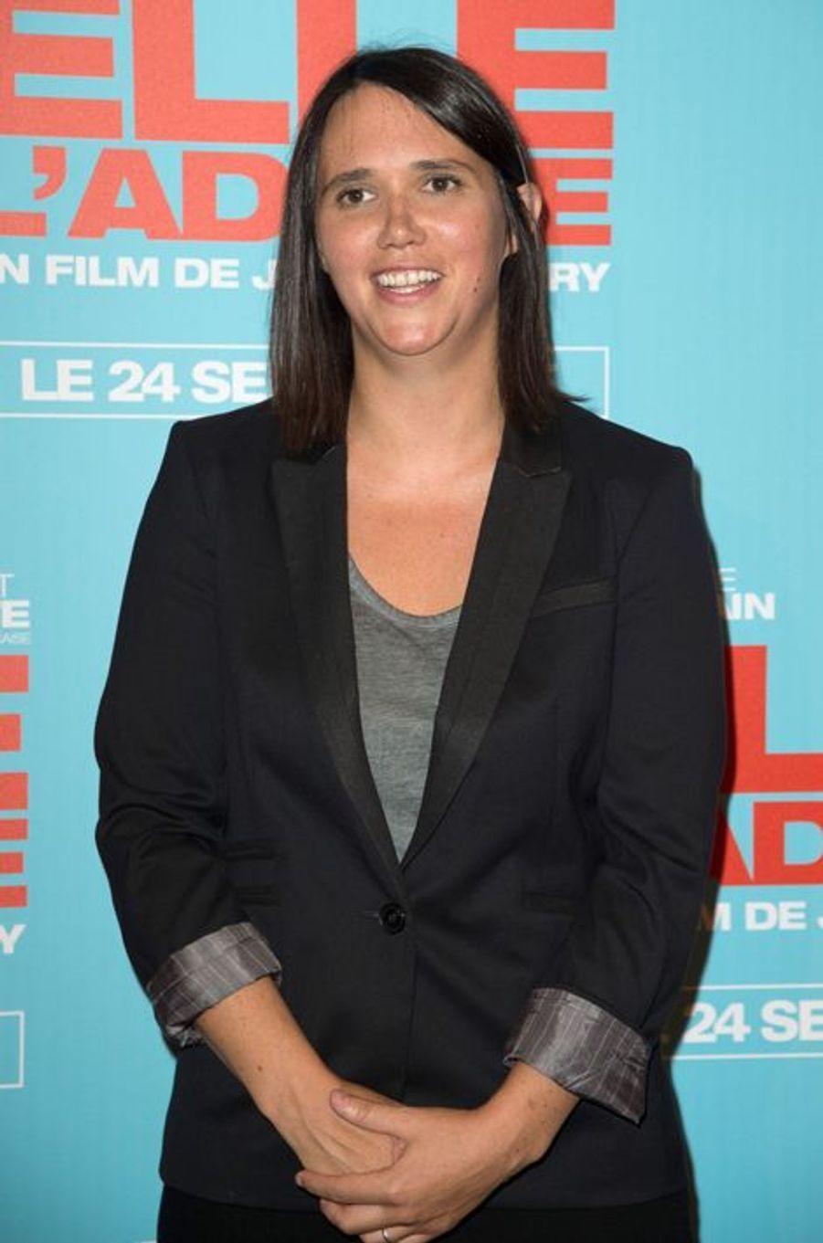 Jeanne Herry à la première de «Elle l'adore» à Paris le 15 septembre 2014.
