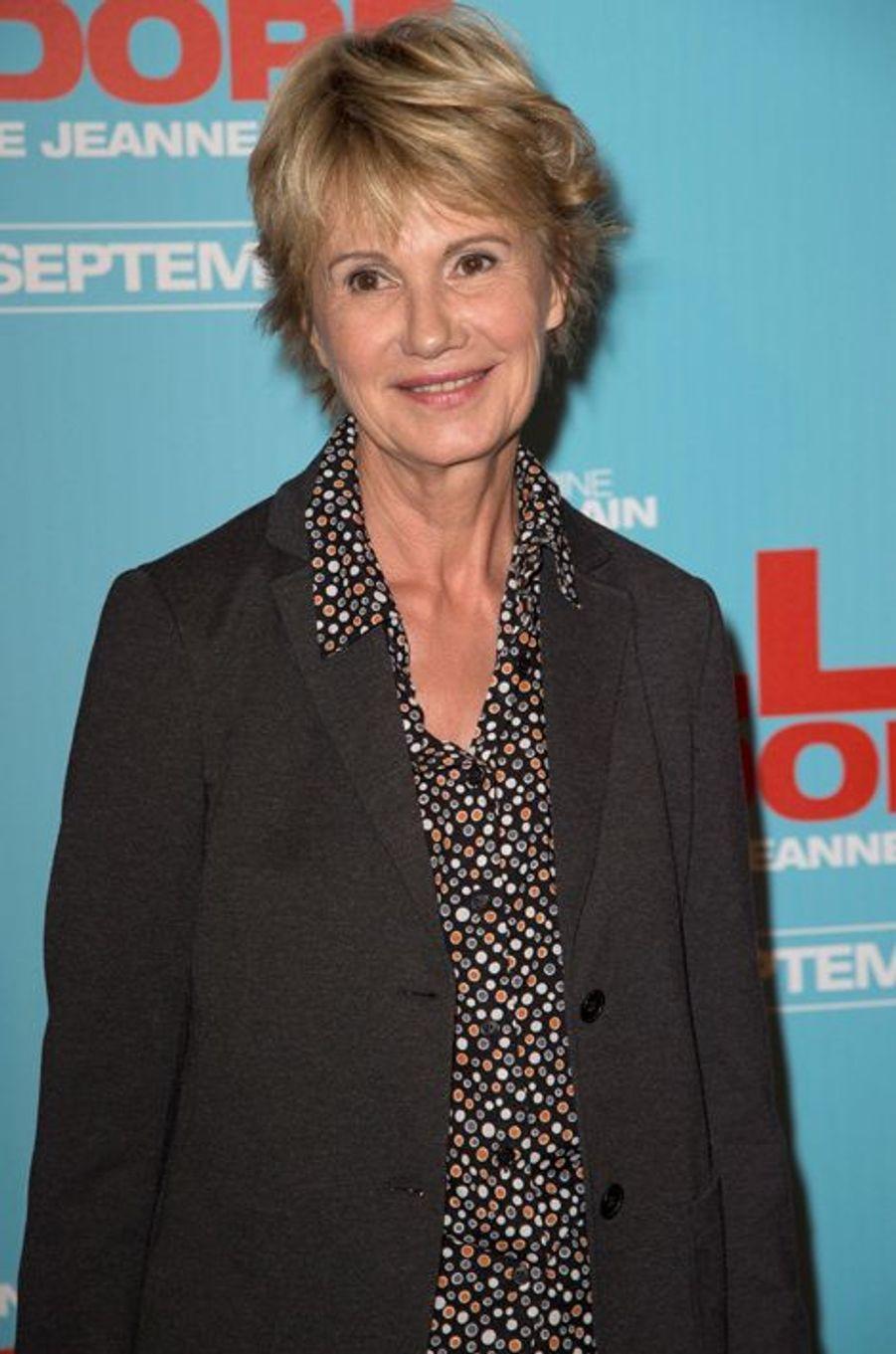 Miou-Miou à la première de «Elle l'adore» à Paris le 15 septembre 2014.