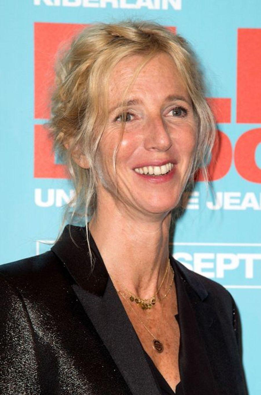 Sandrine Kiberlain à la première de «Elle l'adore» à Paris le 15 septembre 2014.