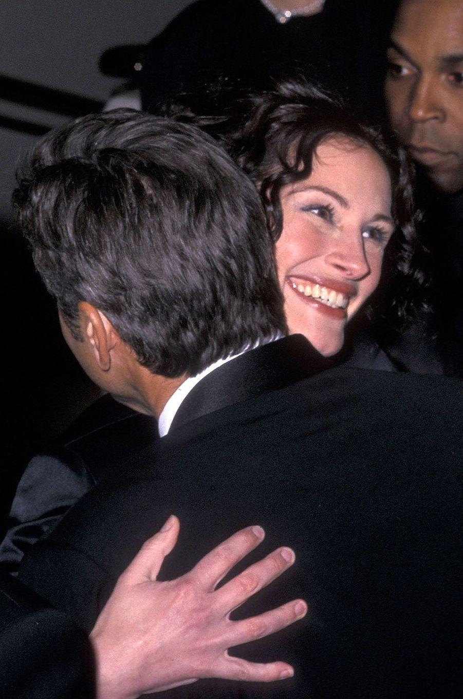 Julia Roberts et George Clooney, en 2003