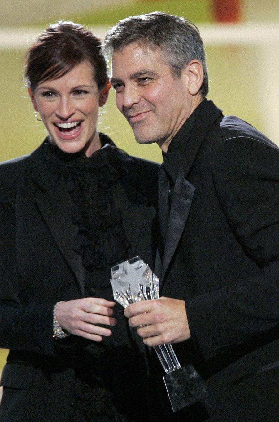 Julia Roberts et George Clooney, en 2005