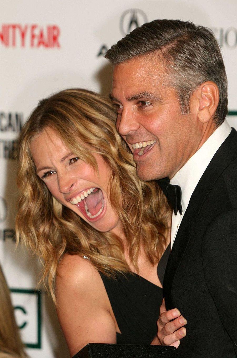 Julia Roberts et George Clooney, en 2006