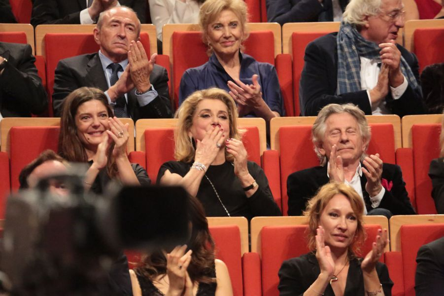 Chiara Mastroianni,Catherine Deneuve et Roman Polanski.