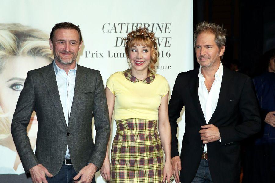 Jean-Paul Rouve, Julie Depardieu, Christopher Thompson.