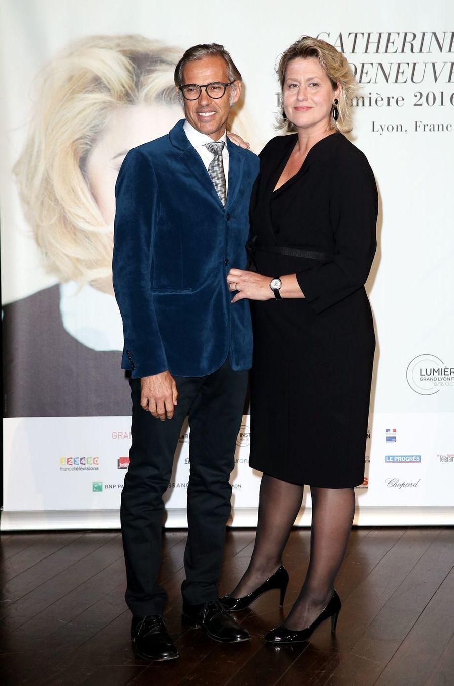 Paul et Luana Belmondo.