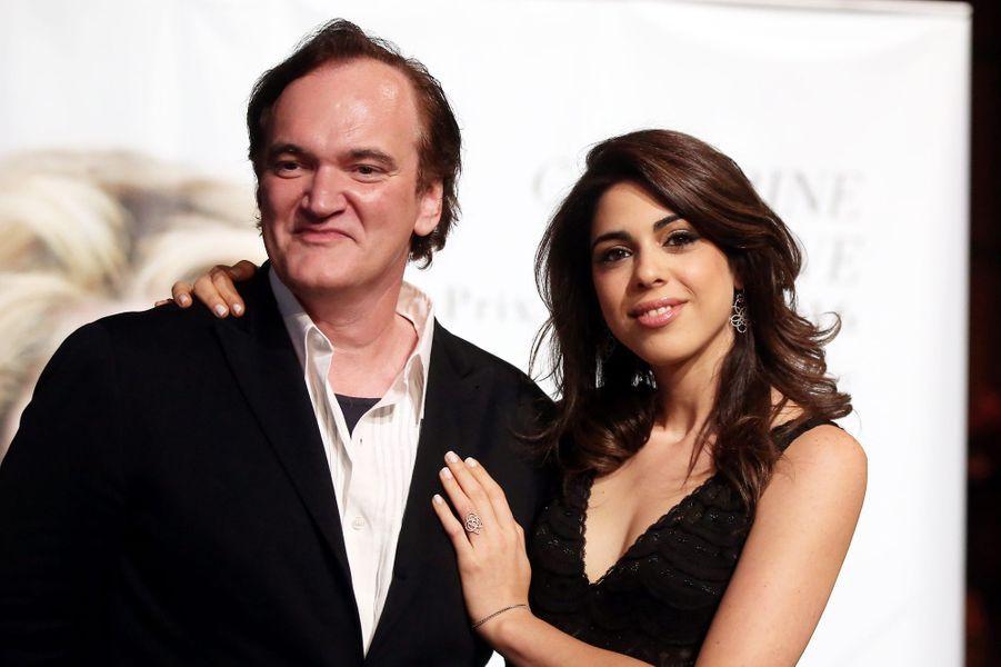Quentin Tarantino et sa compagne Daniela Pick