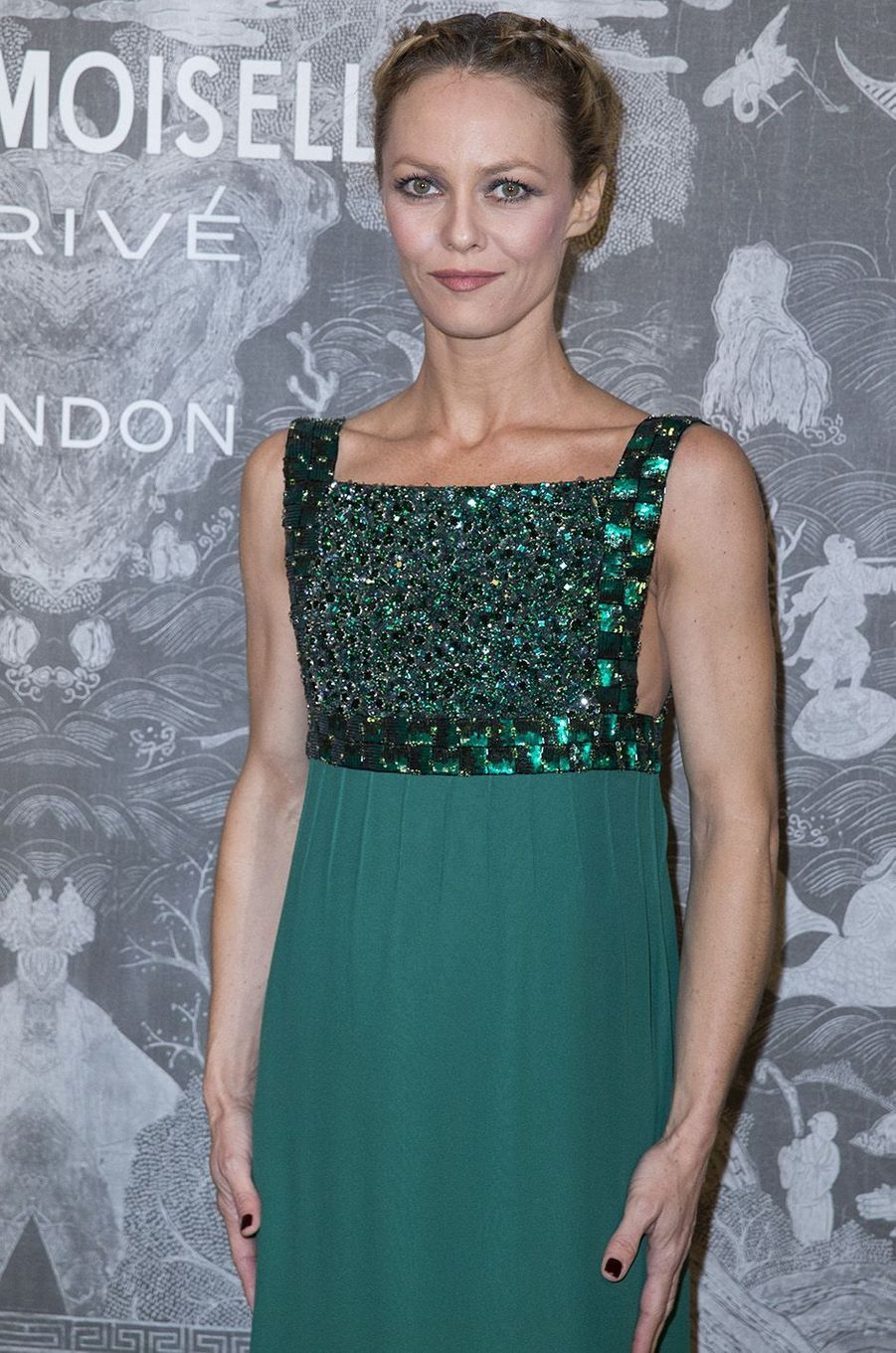 Vanessa Paradis à Londres en octobre 2015