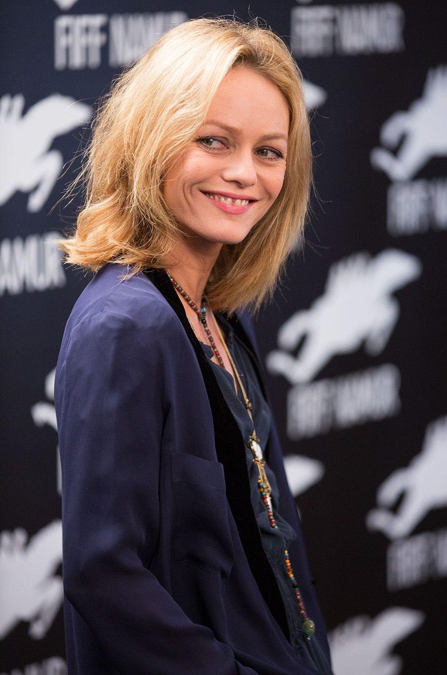 Vanessa Paradis en Belgique en 2015