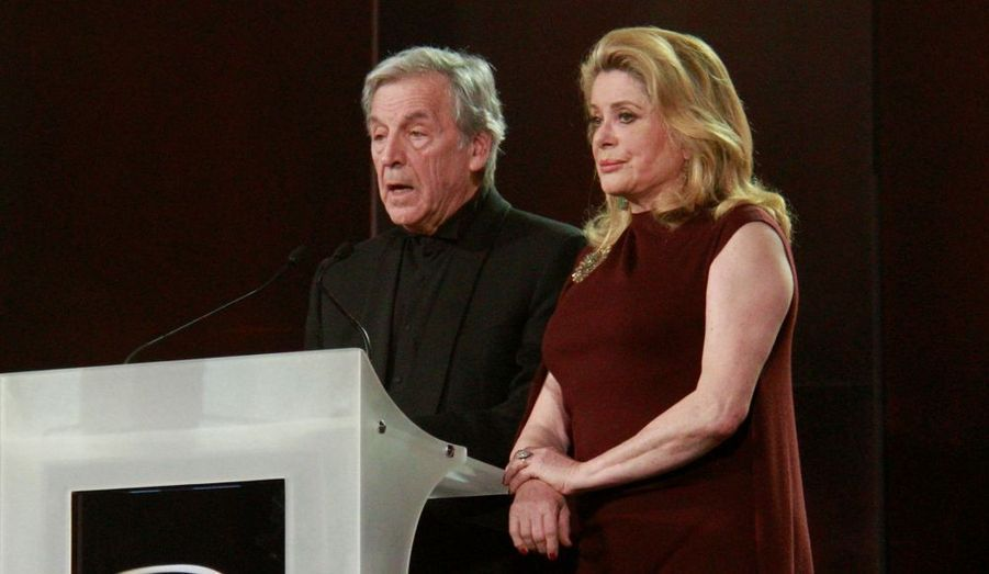 Costa Gavras et Catherine Deneuve