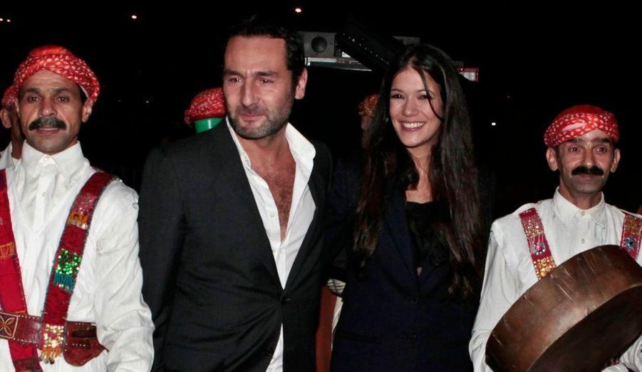 Gilles Lellouche & Mélanie Doutey