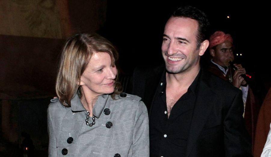 Nicole Garcia et Jean Dujardin