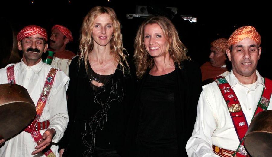 Sandrine Kiberlain et Alexandra Lamy