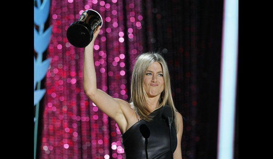 L'actrice s'est vue récompensée pour son rôle dans «Comment tuer son boss», qualifié de «meilleure ordure à l'écran».