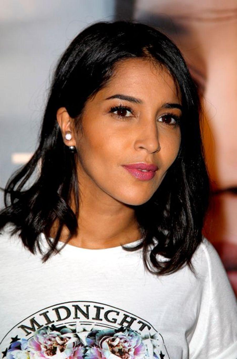 Leïla Bekhti à l'avant-première de «Maintenant ou jamais» à Paris le 2 septembre 2014.