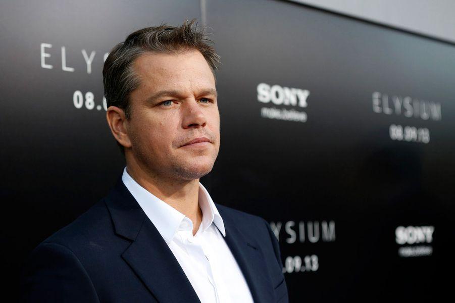 Sa grande popularité ne l'a pas empêché d'apparaître dans le classement. Avec 10,60 dollars de recette pour chaque dollar investi, Matt Damon hérite de la neuvième place.