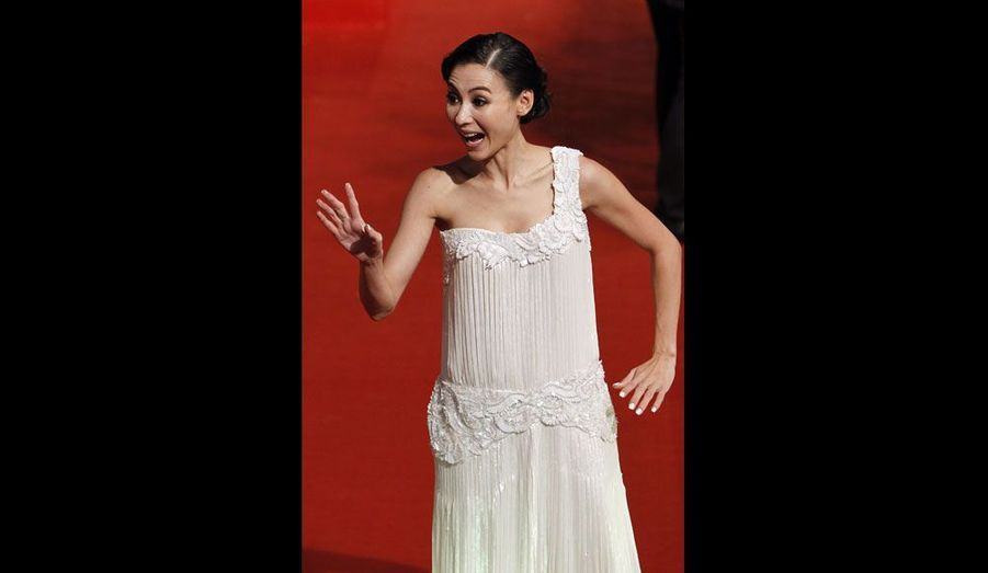 L'actrice hong-kongaise Cecilia Cheung
