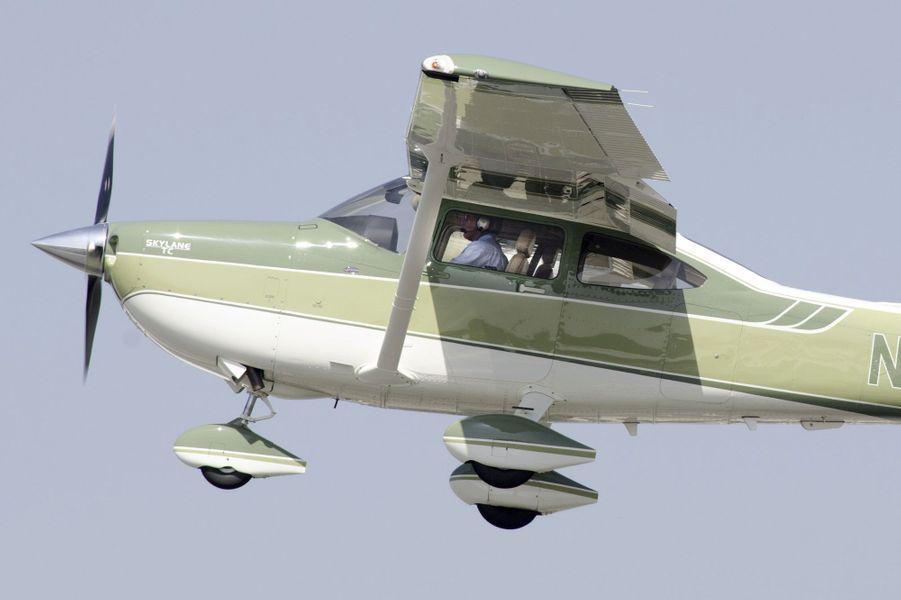 Harrison Ford à bord de son Cessna T182T
