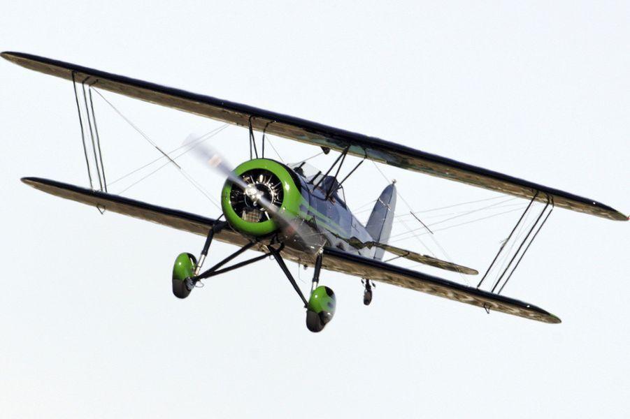 Harrison Ford à bord de son Waco Biplane
