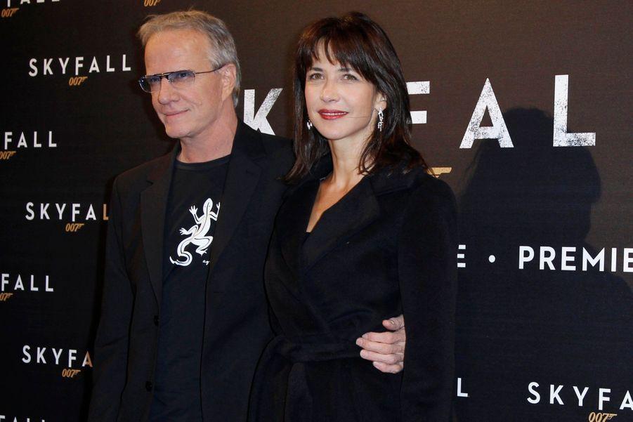 """Ils se rencontrent en 2007 sur le tournage du film """"La Disparue de Deauville""""."""