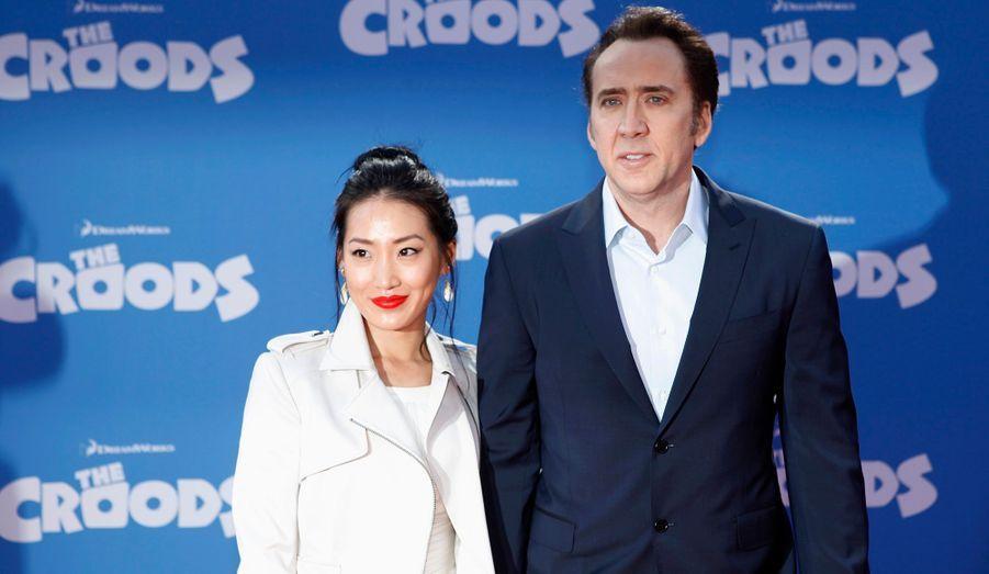 Alice Kim et Nicolas Cage