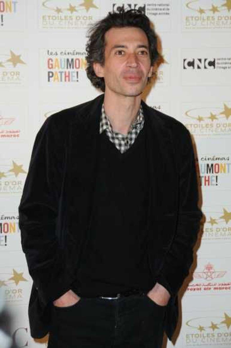 Eric Elmosnino a été élu pour son rôle dans Gainsbourg - (vie héroïque) de Joann Sfa.