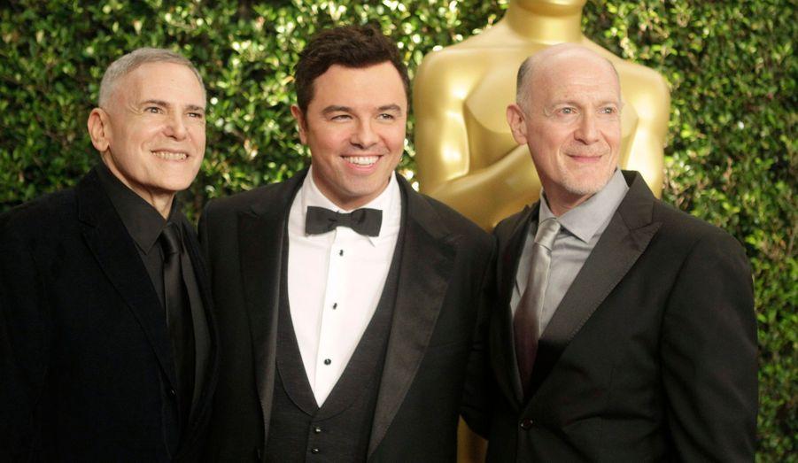 Seth MacFarlane présentera les Oscars en février prochain.