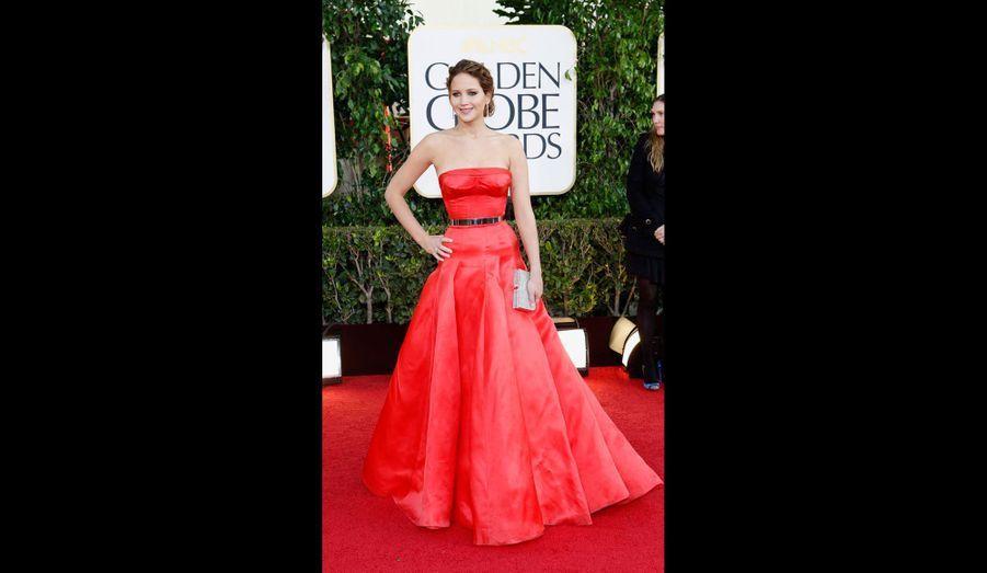 Du rouge au Golden Globe Awards