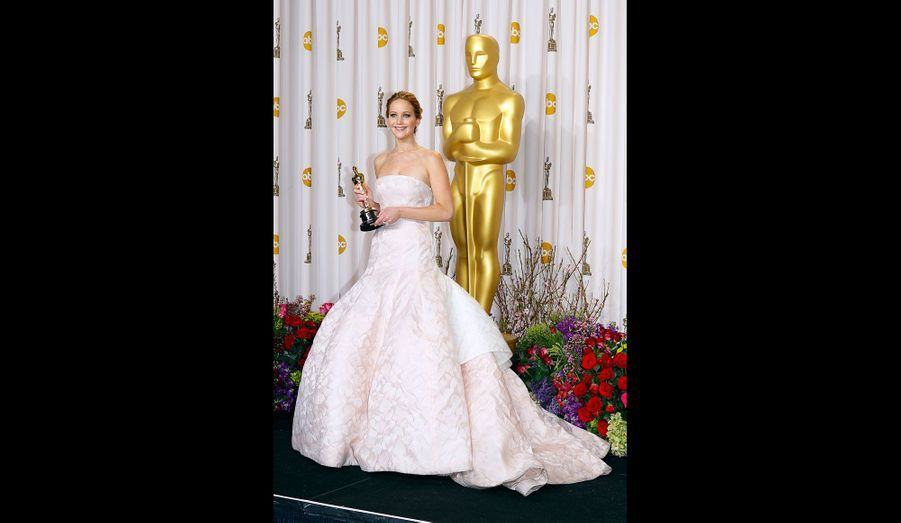 Une robe volumineuse aux Oscars