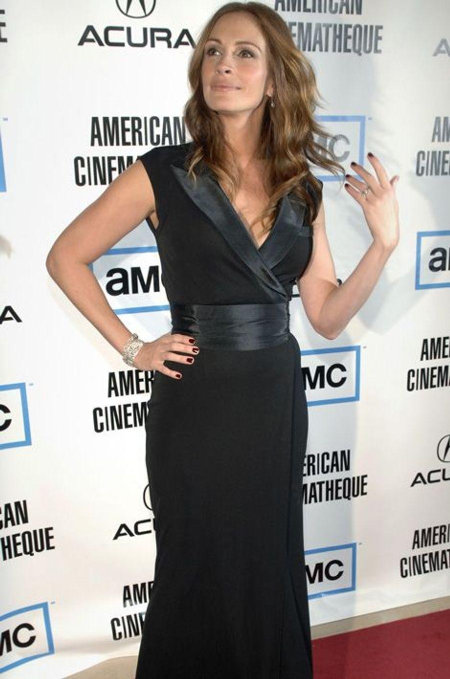 Aux American Cinematheque Awards en 2007, juste avant de recevoir son prix