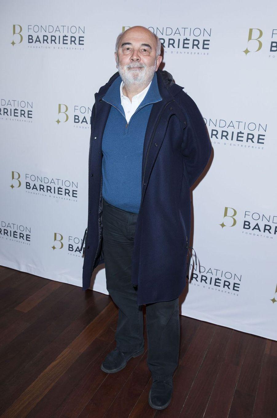 Gérard Jugnot à Paris le 14 mars 2016