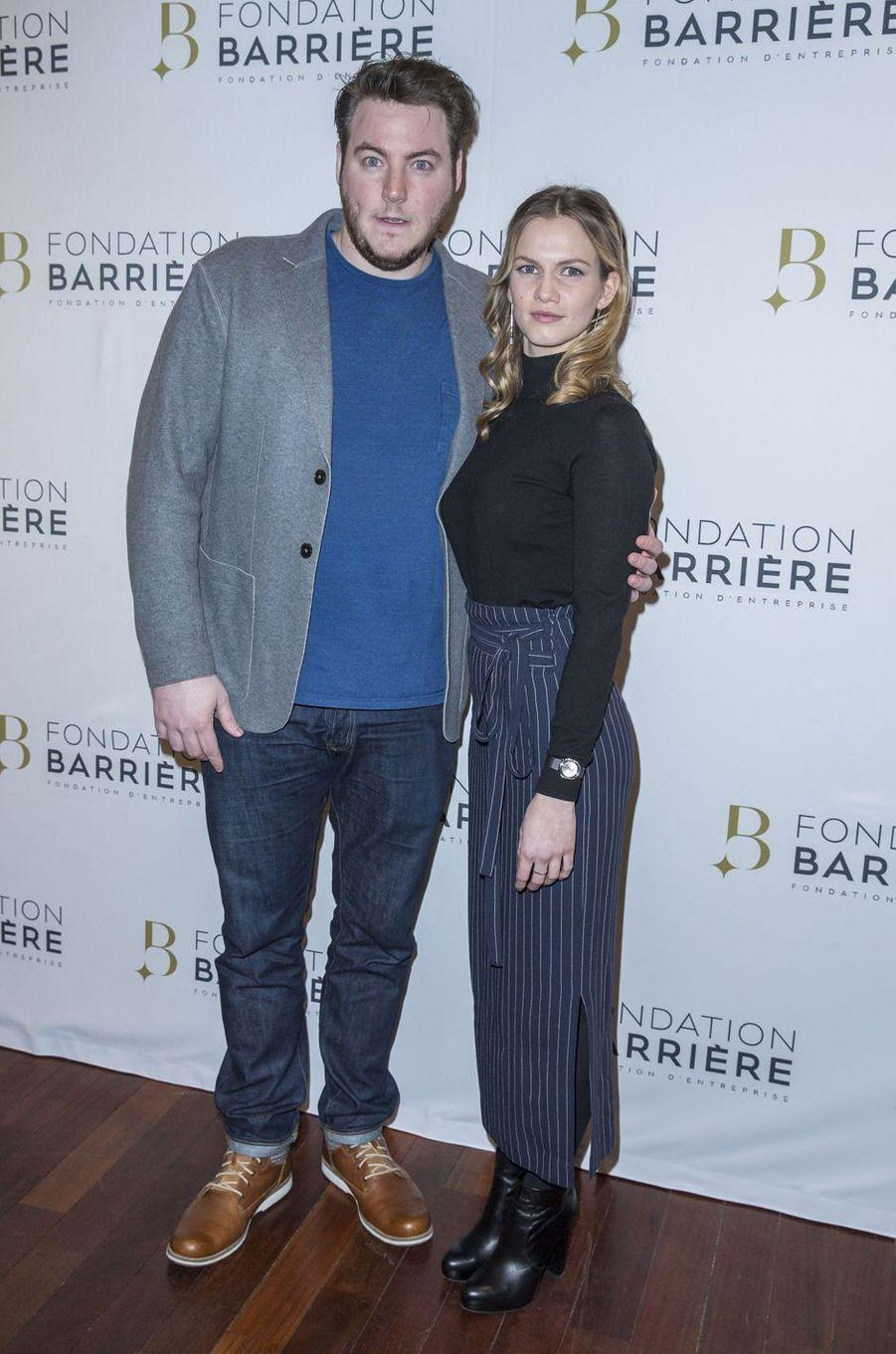 Igor Gotesman et Margot Bancilhon à Paris le 14 mars 2016
