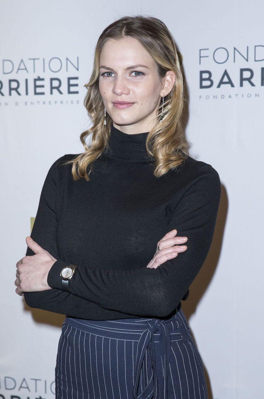 Margot Bancilhon à Paris le 14 mars 2016