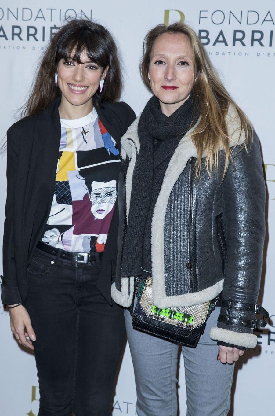 Vanessa Guide et Audrey Lamy à Paris le 14 mars 2016