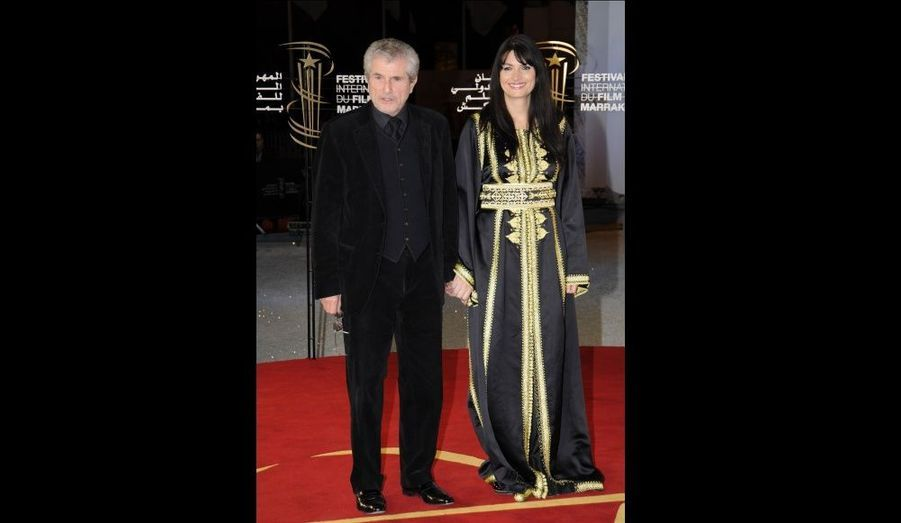 Claude Lelouch et Valérie Perrin