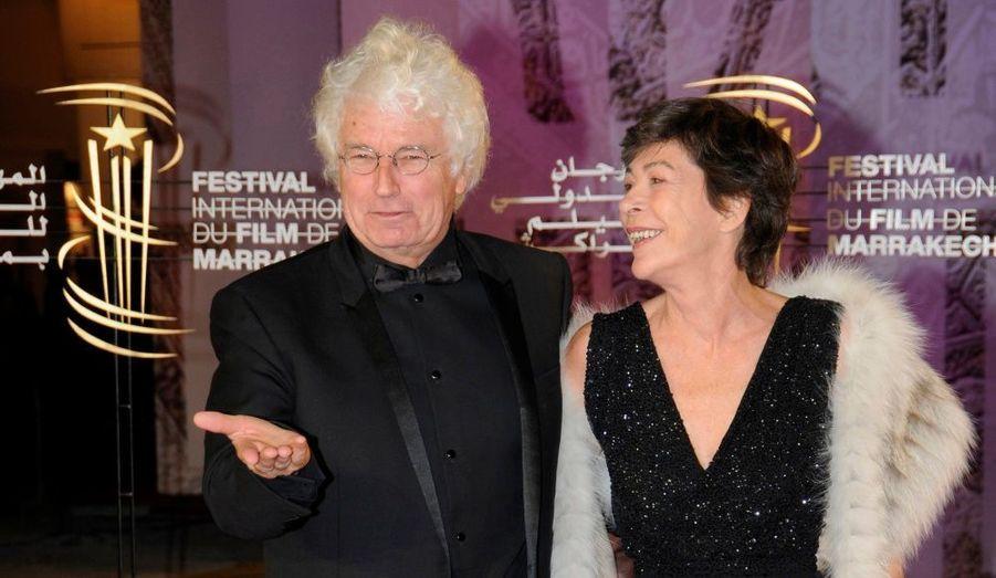 Le réalisateur Jean-Jacques Annaud et sa femme