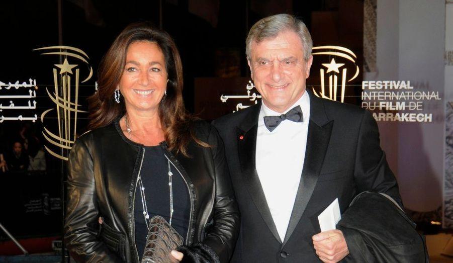 Le président de Christian Dior Couture est venu accompagné de son épouse.