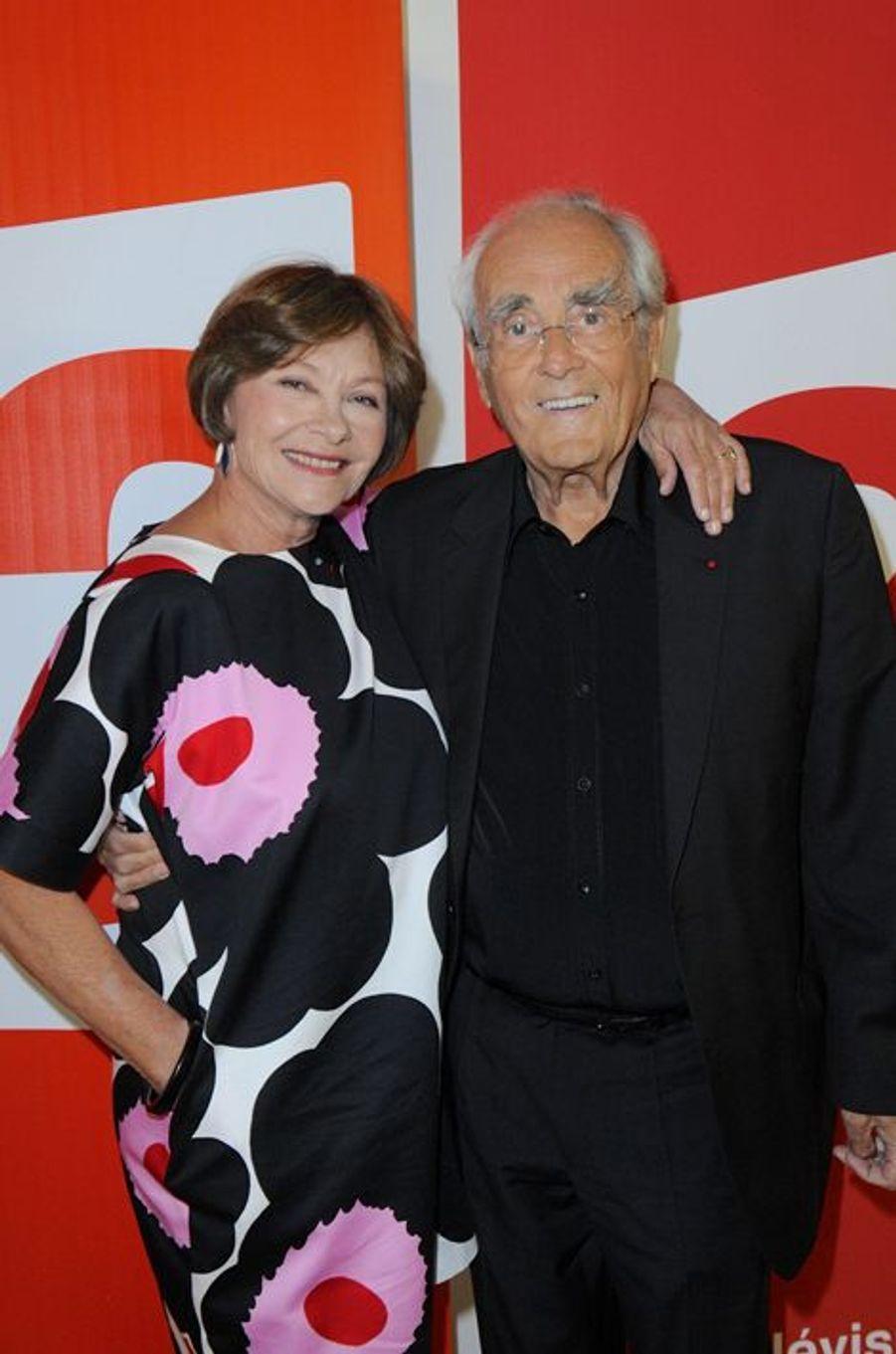 Macha Méril et Michel Legrand à Paris, le 27 juin 2014.