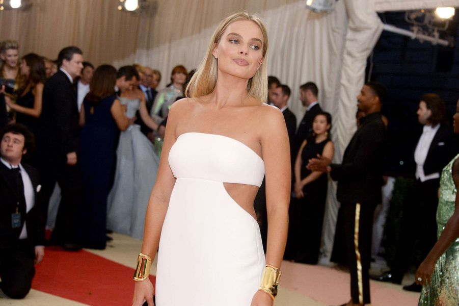 Margot Robbie au MET Ball à New York, en 2015.