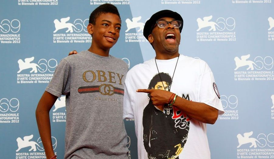 Spike Lee et son fils Jackson