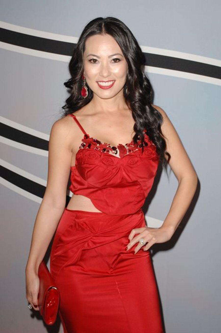 Christine Chui à Los Angeles le 25 octobre 2014